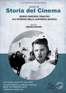 """Peri Peri Eventi a Catania - Il 22 marzo inizia il corso di Sergio Barone """"Storia del Cinema"""""""