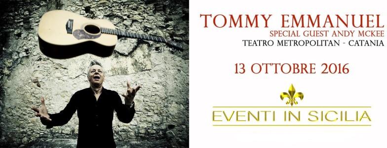 Tommy Emmanuel e Andy Mckee - PeriPeri - Eventi a Catania