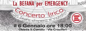 PeriPeri Catania - La Befana per Emergency