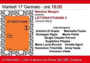 PeriPeri Catania - Letteratitudine vol.3 a La Feltrinelli