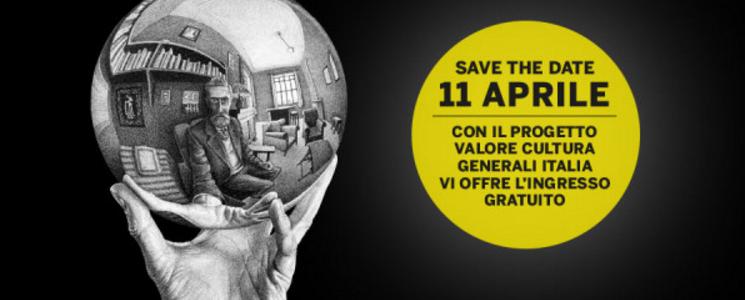 A palazzo della cultura la mostra di escher gratuita per for Escher mostra catania