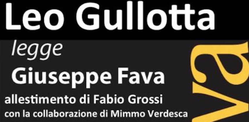 PeriPeri Catania - Leo Gullotta legge Fava