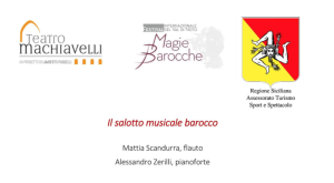 PeriPeri Catania - Il salotto musicale barocco