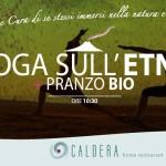 PeriPeri catania eventi - Yoga e pranzo sull'Etna con Caldera