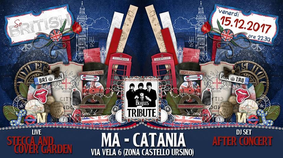 periperi catania eventi - I Cover Garden al Ma, dagli anni 50 agli anni 70