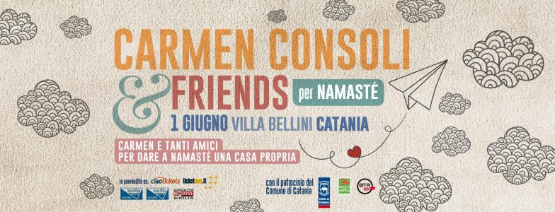 Carmen consoli friends alla villa bellini periperi catania - Carmen consoli diversi ...