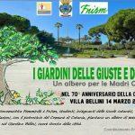 PeriPeri Catania - Alla Villa Bellini un albero per le madri costituenti