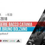 PeriPeri Catania - Messaggerie Bacco Catania vs Mosca Bruno Bolzano
