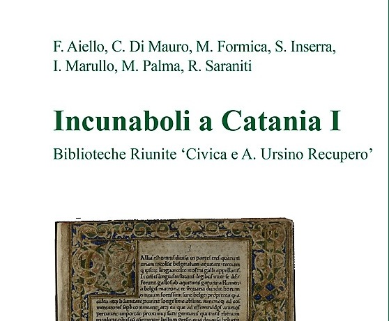 incunaboli a catania I - periperi catania