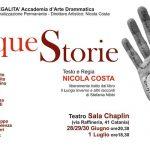 PeriPeri - Eventi a Catania - Cinque Storie - spettacolo teatrale - nicola costa