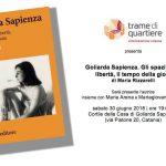 PeriPeri - Eventi a Catania - Goliarda Sapienza - Trame di Quartiere