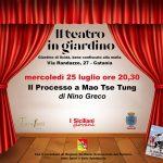 PeriPeri - Eventi a Catania - Il processo a Mao Tse Tung, evento teatrale al Giardino di Scidà