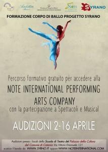 audizioni danza Periperi eventi a catania