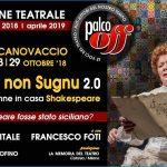 PeriPeri - Eventi a Catania - Sugnu o non Sugnu 2.0 al Teatro del Canovaccio